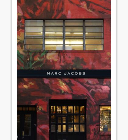 Floral Marc Jacobs Sticker