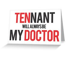 doctor how Greeting Card
