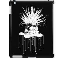 WHT on BLK: Piranha Planet  iPad Case/Skin