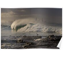 Evening Wave Poster