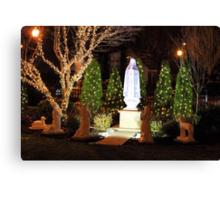 The apparition - Christmas 2013 Canvas Print