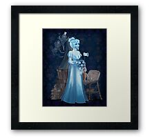 Black Widow Bride in the Attic Framed Print