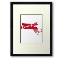 Harvard Framed Print