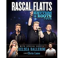 RASCAL FLATTS - rhythm & roots tour 2016 Exclusive #hs Photographic Print