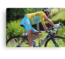 Vincenzo Nibali - Tour de France 2014 Canvas Print
