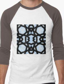 Connected - Original Abstract Design Men's Baseball ¾ T-Shirt