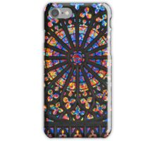 Brilliant Colors in Church Rosette iPhone Case/Skin