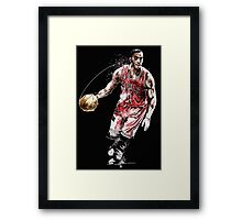 Derrick Rose Framed Print