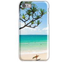 Little Cove Long boarding : Surfing Noosa iPhone Case/Skin