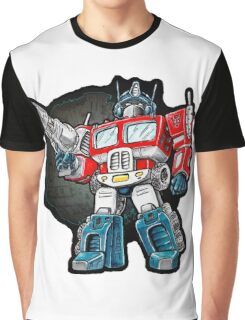 Optimus Prime Chibi - No background Graphic T-Shirt