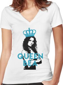 Wentworth - Queen Bea Women's Fitted V-Neck T-Shirt