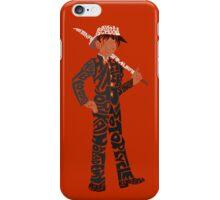 Hattori Heiji word art iPhone Case/Skin