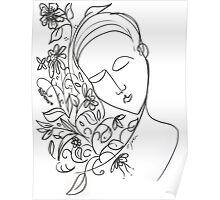 """""""Love's Fragrant Gift"""" Poster"""