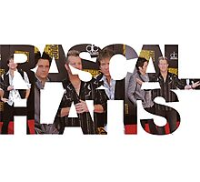 RASCAL FLATTS - rhythm & roots riot tour 2016 limited edition typograpy Photographic Print