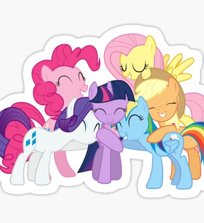 My Little Pony-Main 6 Sticker
