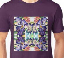 Iris Garden Abstract Watercolor Unisex T-Shirt
