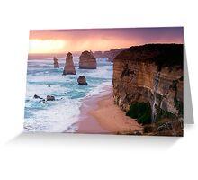 12 Apostles at Great Ocean Road Greeting Card