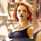 Scarlett Johansson miniature SJ4 by wu-wei