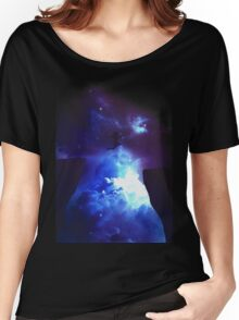 jump in galaxy Women's Relaxed Fit T-Shirt