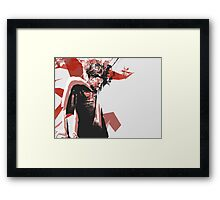 Danny Brown Abstract Framed Print