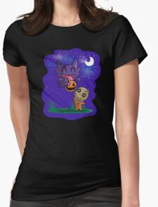 Sam and Haunter  Womens Fitted T-Shirt