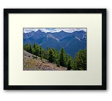 There's Not A Place Where I'll Go Framed Print