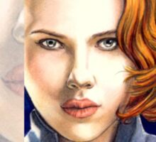 Scarlett Johansson miniature SJ1 Sticker