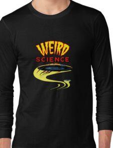Weird Science UFO scifi vintage Long Sleeve T-Shirt