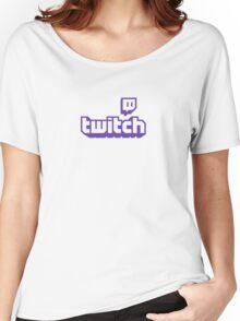 Twitch TV Logo Women's Relaxed Fit T-Shirt