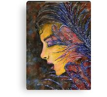 Thoughts Overgrown Canvas Print