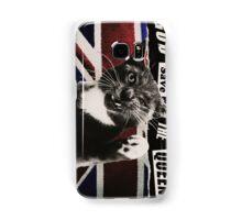 God Save The Queen Cat Samsung Galaxy Case/Skin