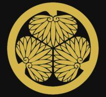 Tokugawa Samurai Mon by Rokkaku