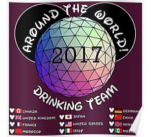 Drink Around the World Drinking Team 2017 Poster