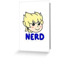 Jack Atlus NERD Greeting Card