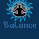 Men's ~ Balance: Meditation & sacred geometry .  by Leah McNeir