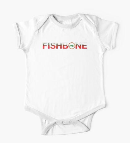 fishbone One Piece - Short Sleeve