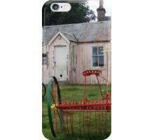 Old School Crofting equipment iPhone Case/Skin