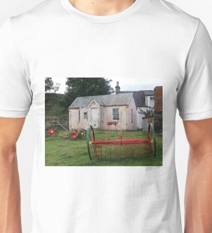 Old School Crofting equipment Unisex T-Shirt
