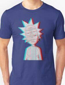 3D Rick Unisex T-Shirt