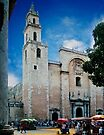Cathedral of San Idelfonso in Merida by Yukondick