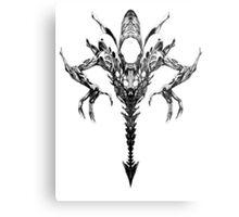 Xenomorph-Sumi Metal Print