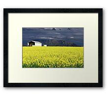 Sunshine After the Storm Framed Print