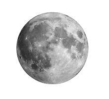 Full moon large Photographic Print