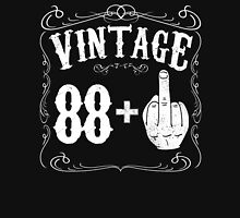Vintage middle finger salute 89th birthday gift funny 89 birthday 1927 Unisex T-Shirt