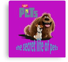 The Secret Life Of Pets Canvas Print