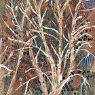 Crick Avenue, Winter Trees by John Douglas