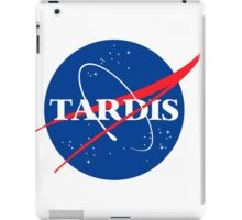 Tardis Nasa logo Doctor Who iPad Case/Skin