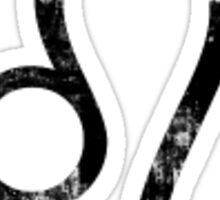 Leo-Zodiac Sign Sticker