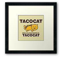 Tacocat Framed Print