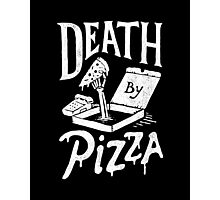 Death By Pizza Photographic Print